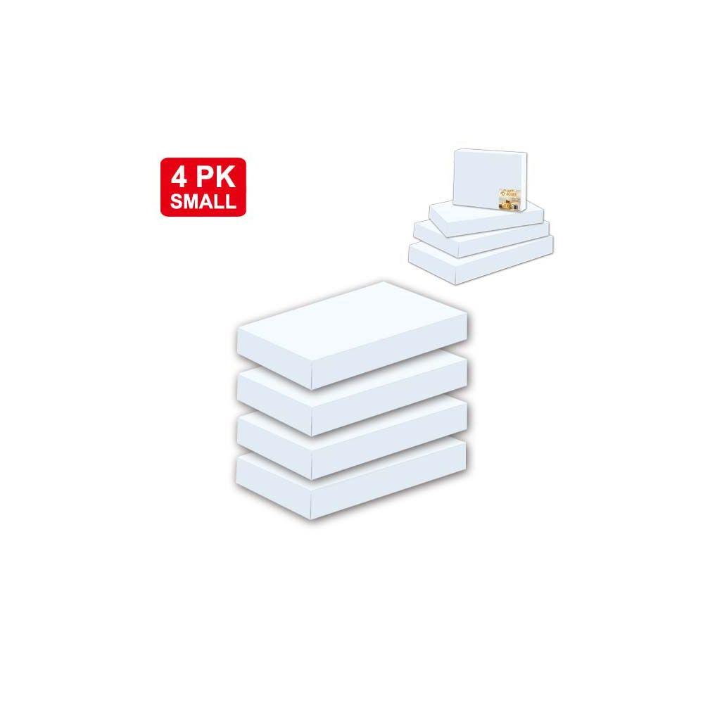"96 Units of 4 Piece box white 11x8.25x1.5""/Small"