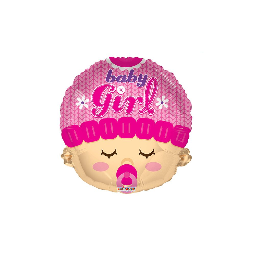 "100 Units of 2-side 18"" ""girl"" shaped Balloon"