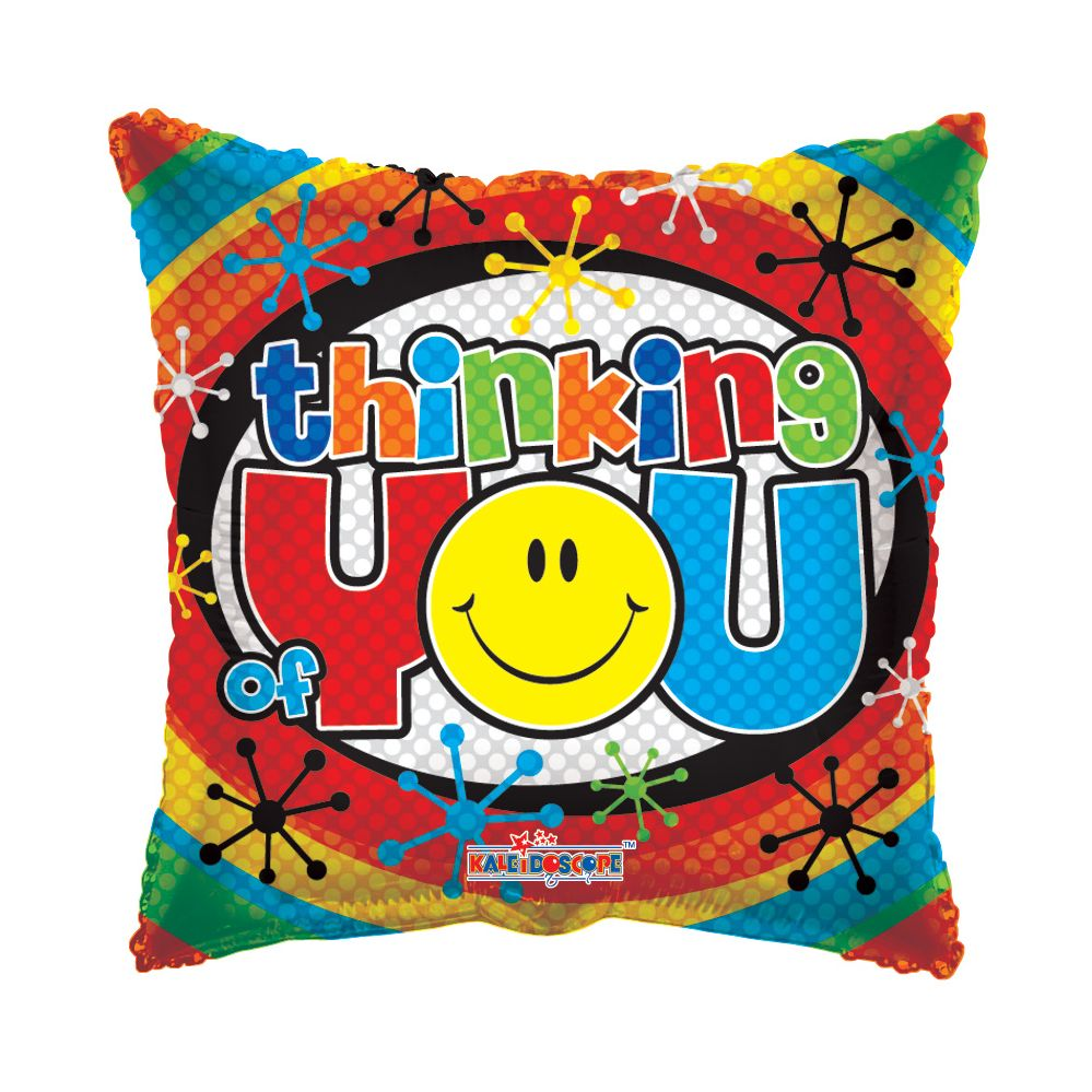 "125 Units of 2-side ""thinking of you"" Balloon - Balloons/Balloon Holder"