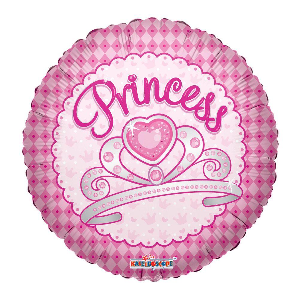 "125 Units of 2-side ""princess"" balloon"