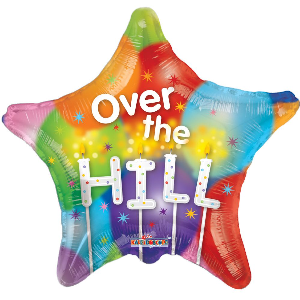 "125 Units of 2-side ""over the hill"" Balloon"