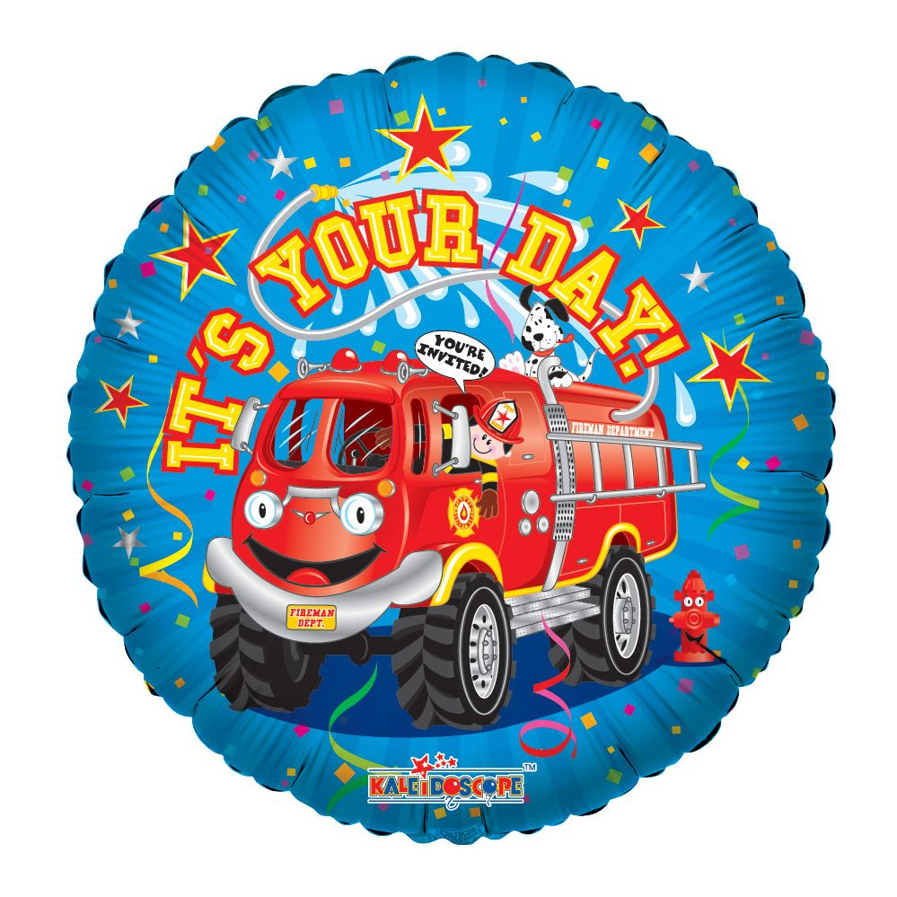 """125 Units of 2-side """"it's your day"""" Balloon - Balloons/Balloon Holder"""