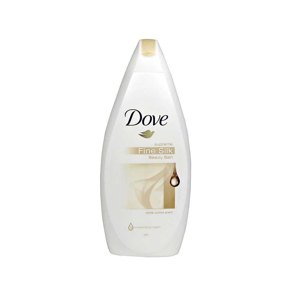 24 Units of Dove wash fine silk 500ml