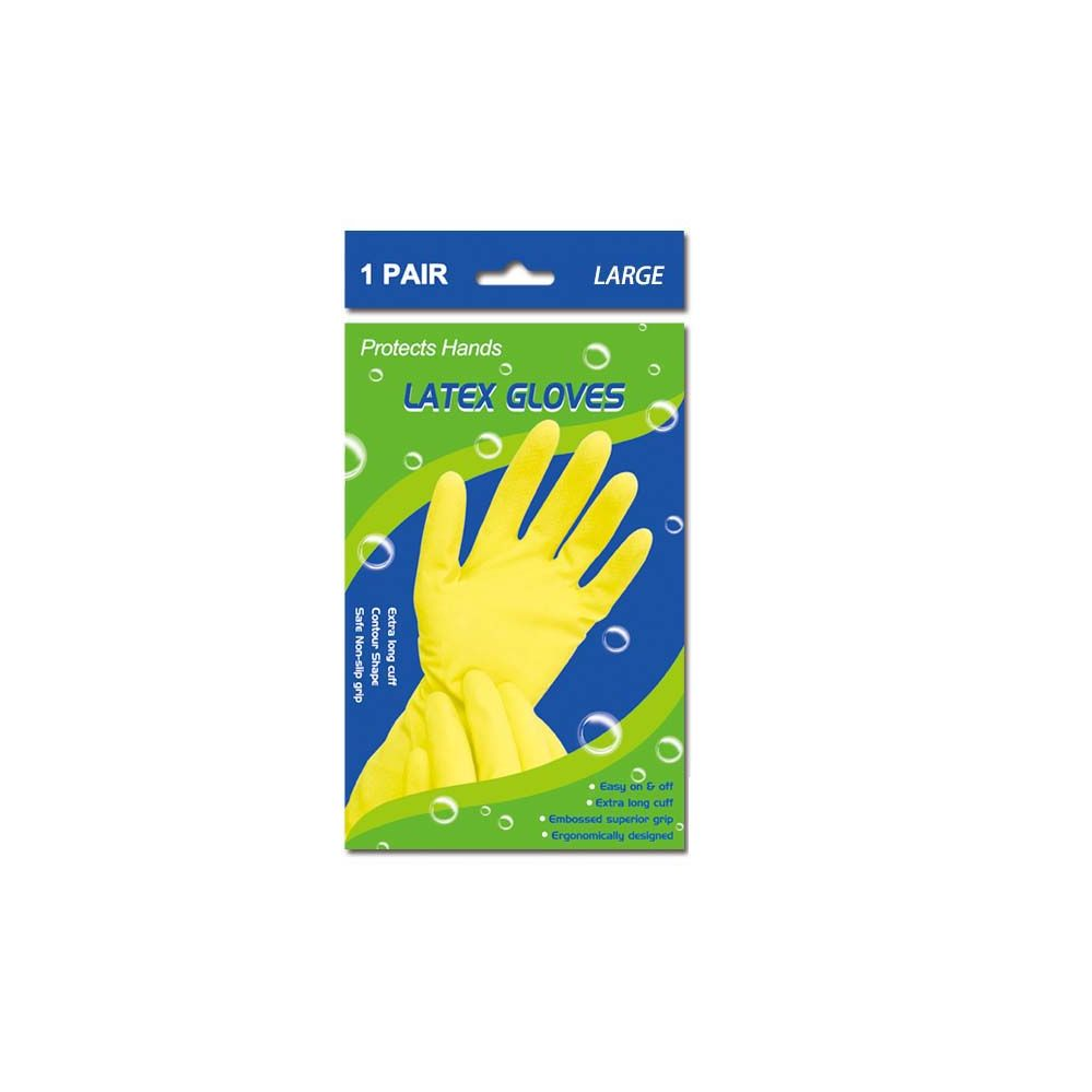 96 Units of Latex gloves/Large - Latex Gloves
