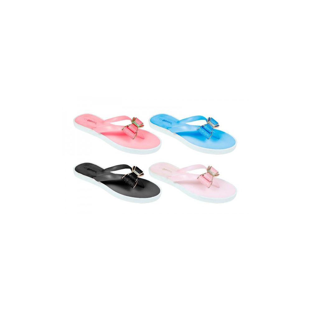 ccbddde5f738f 48 Units of Girls Waterproof Flip Flops - Girls Flip Flops - at -  alltimetrading.com