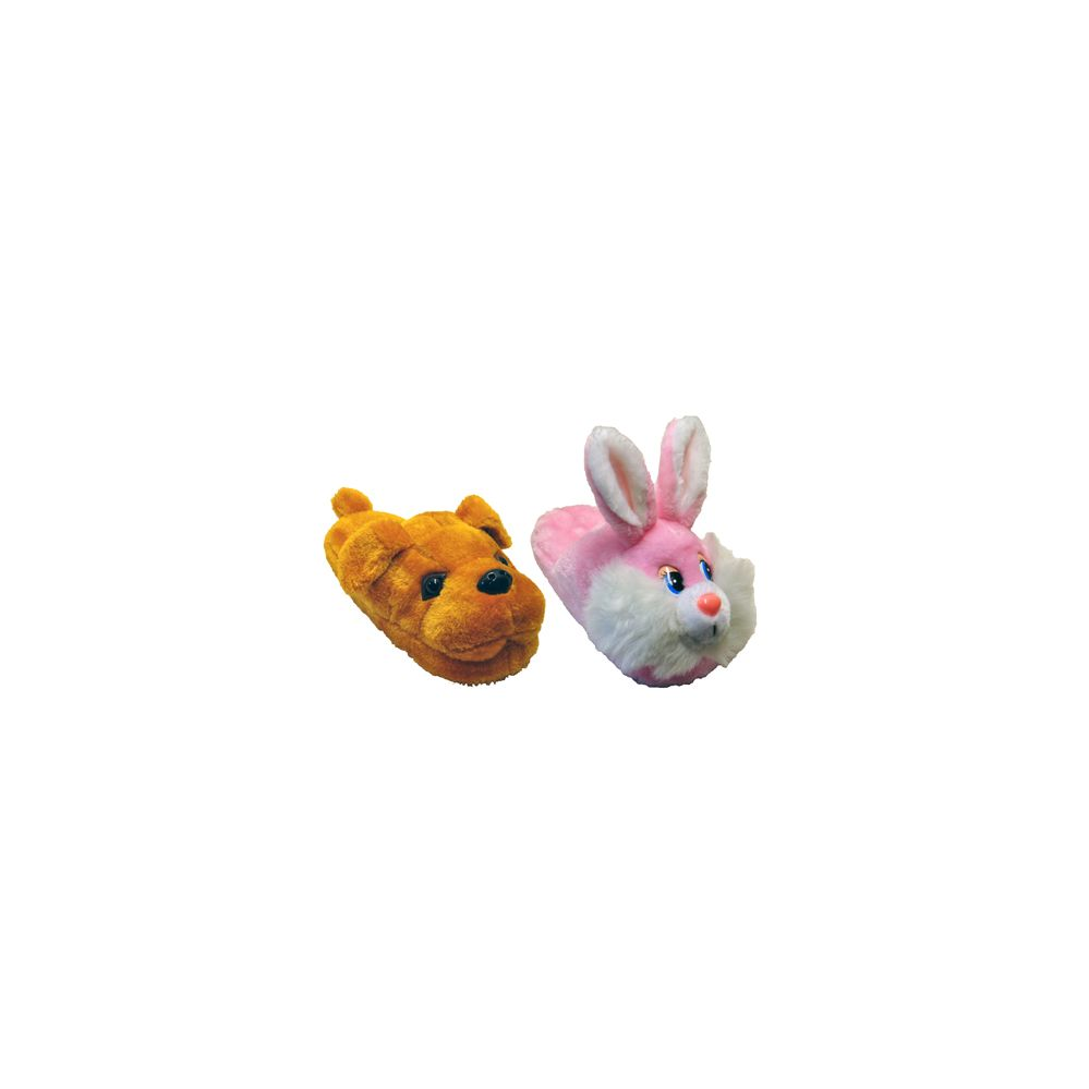 36 Units of Kids Plush Slippers