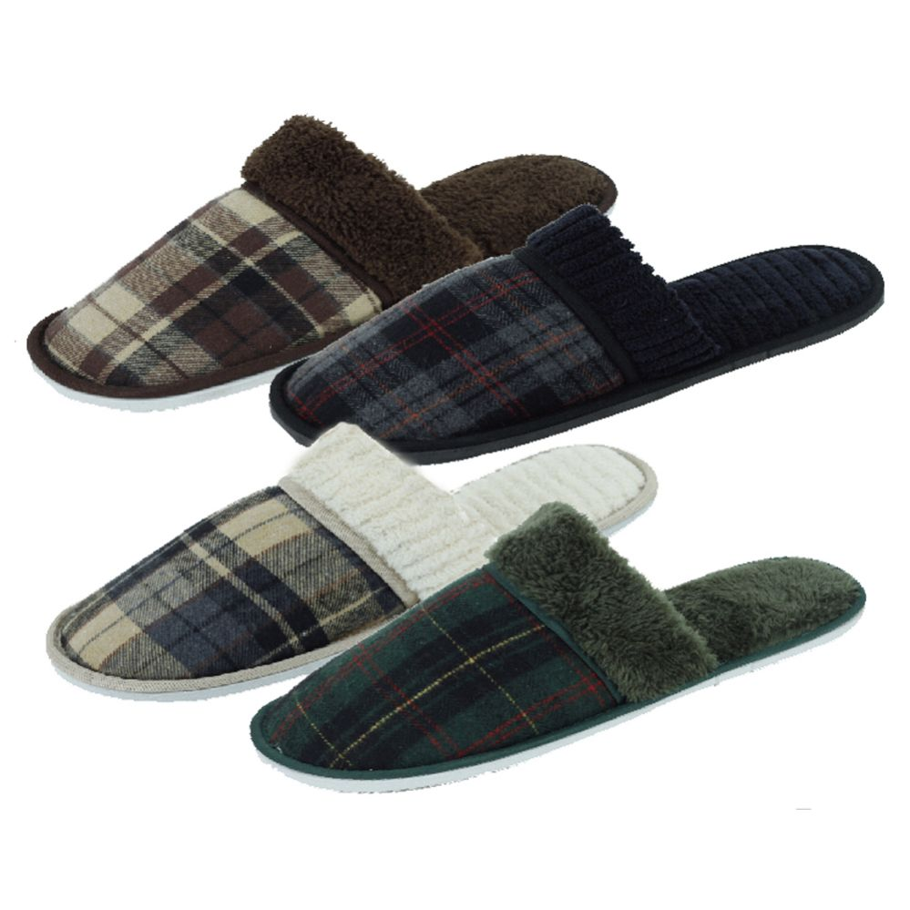 48 Units of Mens House Slippers