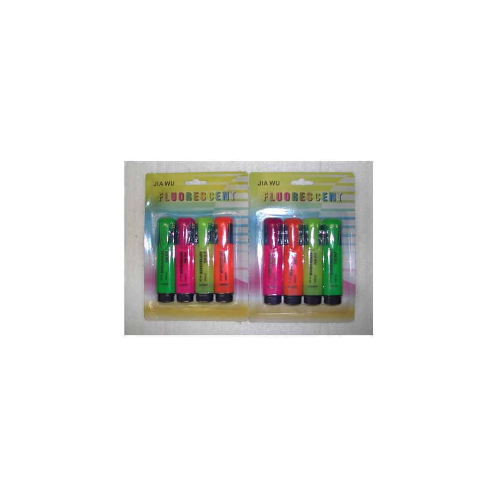 144 Units of 4pc. Highlighters - MARKERS/HIGHLIGHTERS