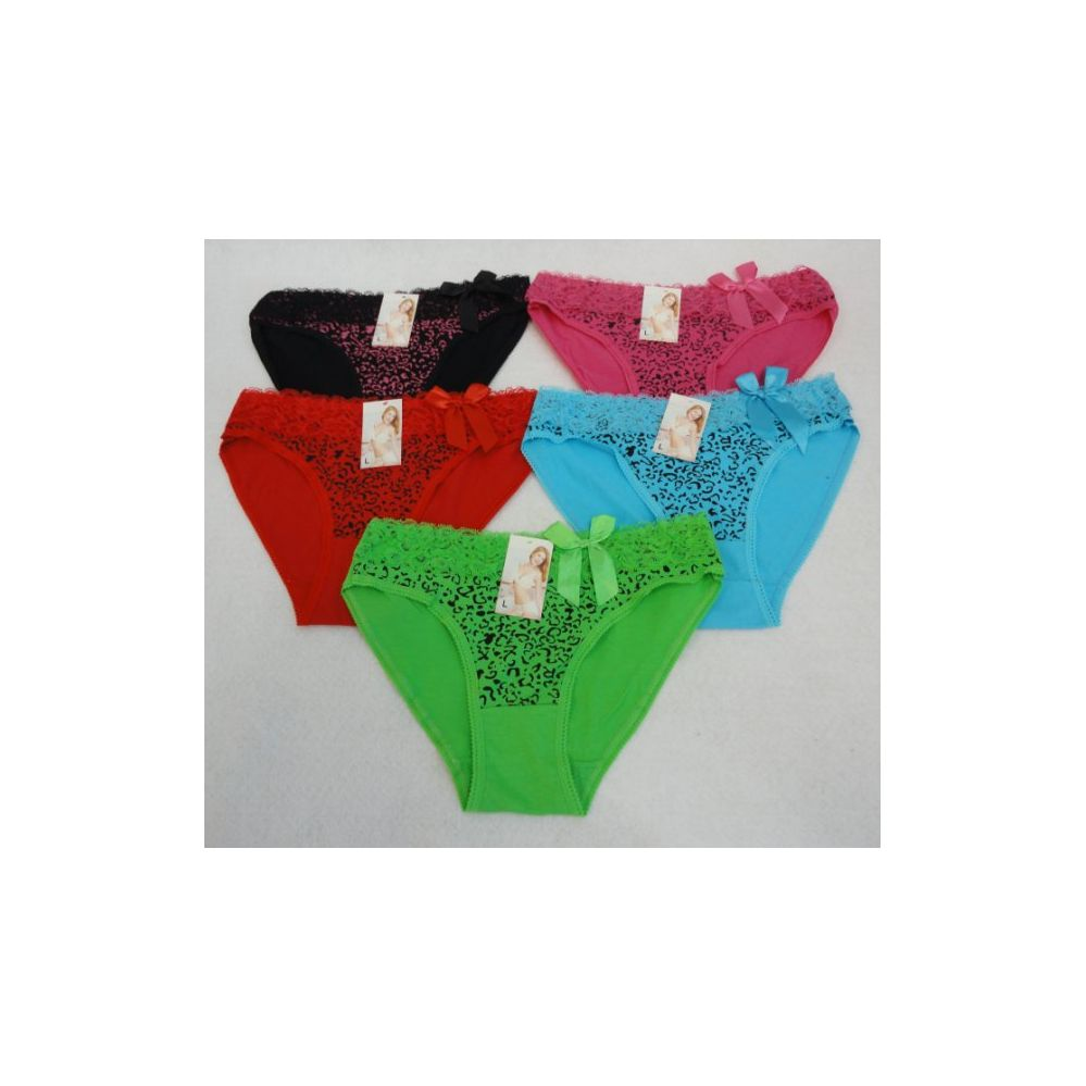 60 Units of First Quality Ladies panties Assorted Colors and Sizes