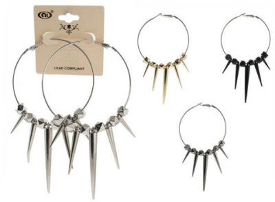 48 units of silver tone 2 1 2 inch diameter lever catch for Paparazzi jewelry wholesale prices