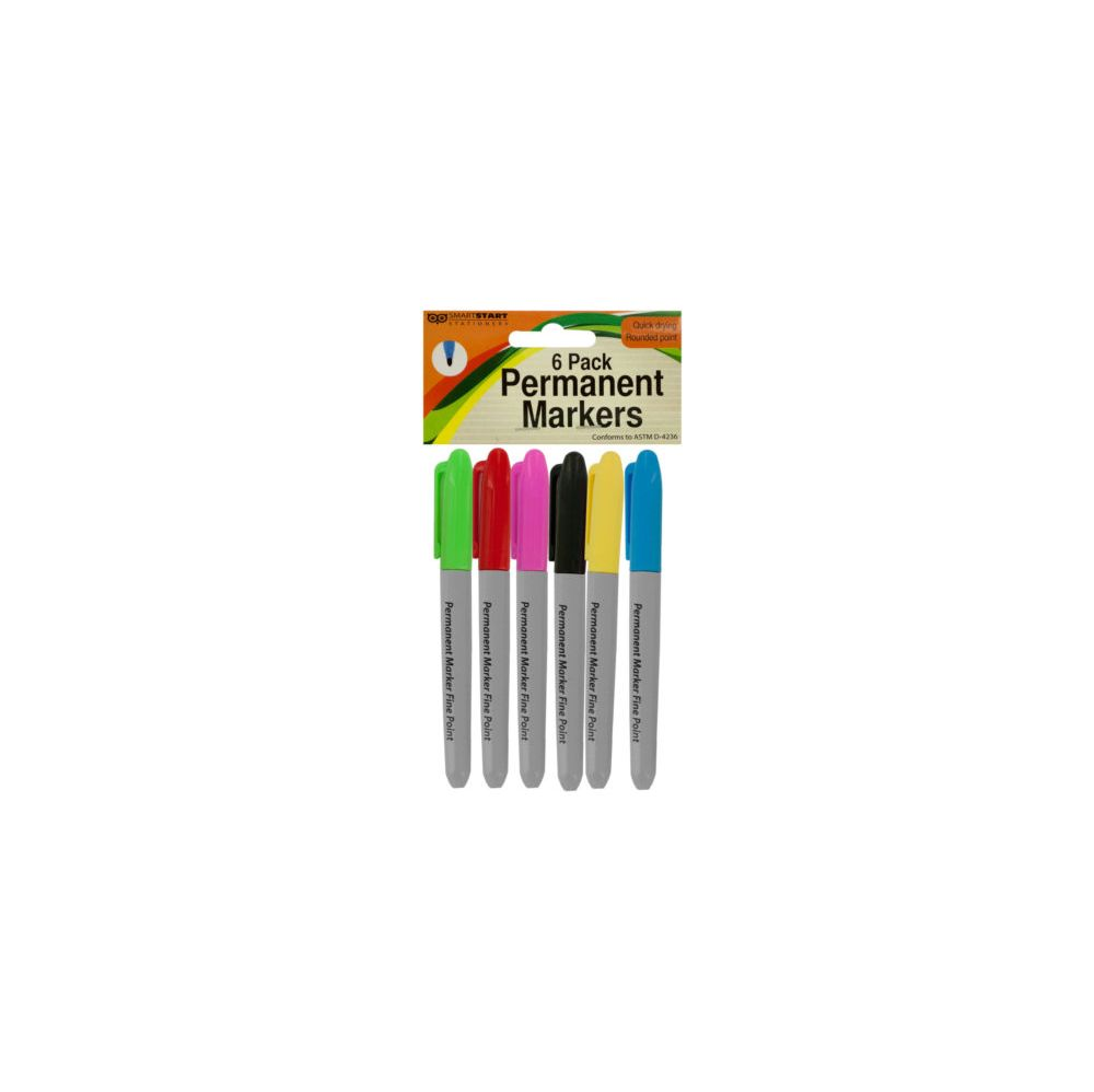 48 Units of Color Permanent Markers Set