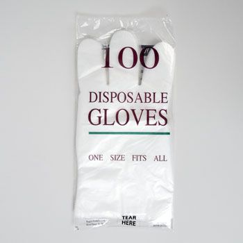 100 Units of Gloves Disposable - Latex Gloves