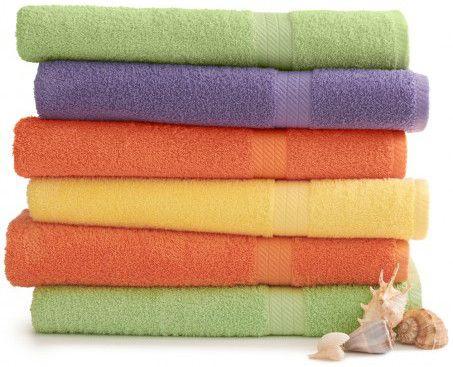24 Units Of Martex Staybright Solid Color Luxury Bath Towel 30 X 54
