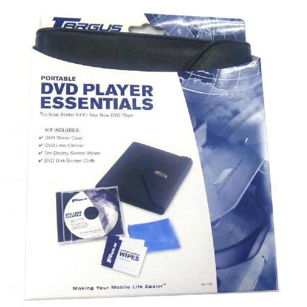 100 Units of Targus 5 DVD/CD Holder - Home Accessories