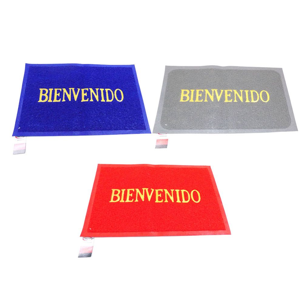 40 Units of Bienvenido Mat Material: PVC - Home Accessories