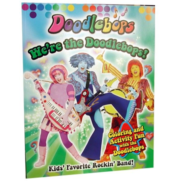 48 Units Of Were The Doodlebops Coloring And Activity Book