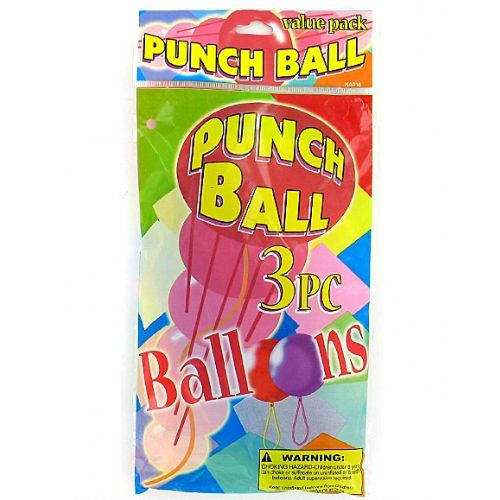 72 Units of Punch balls value pack (set of 3) - Balloons/Balloon Holder