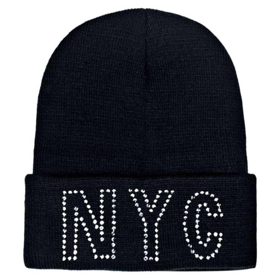 ec258dd8d50 48 Units of Knit Hat NYC With  Rhinestone - Winter Beanie Hats - at -  alltimetrading.com