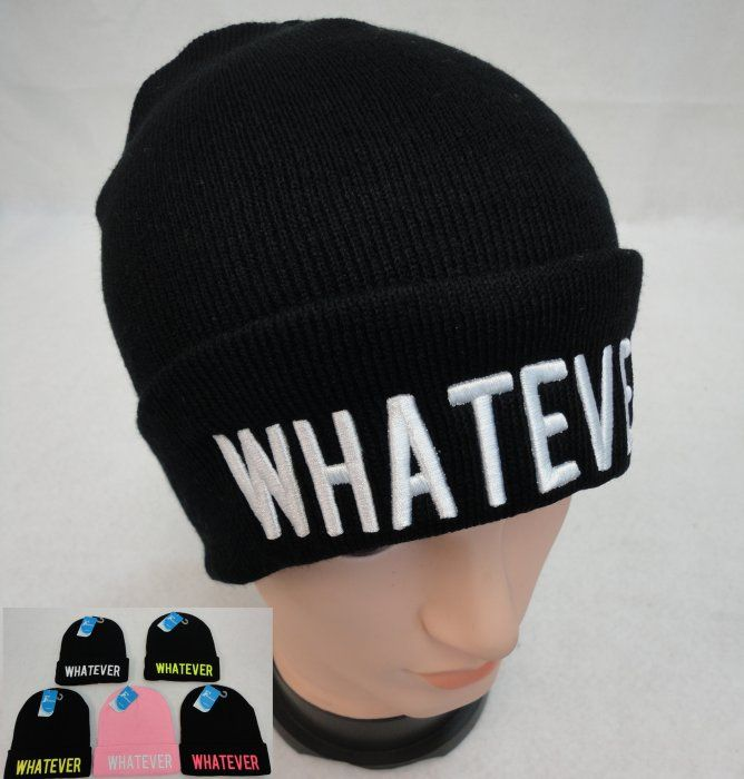 5b56589f55 36 Units of Knit Hat [WHATEVER] - Winter Beanie Hats - at -  alltimetrading.com