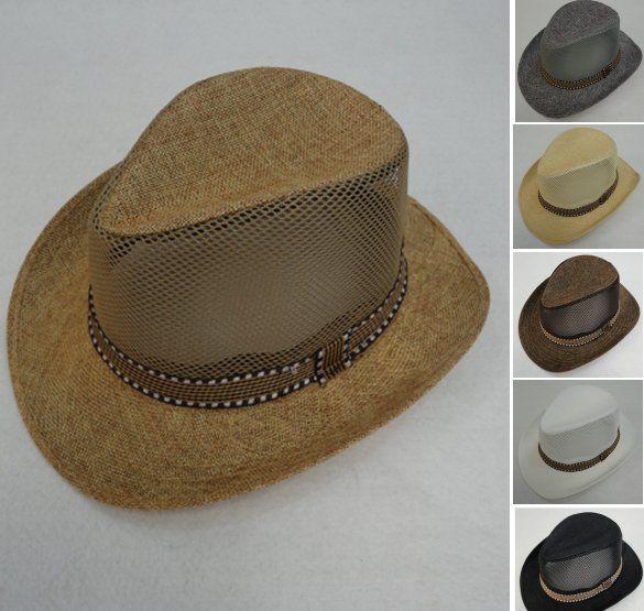 36 Units of Smaller Brim Cowboy Hat  Mesh Sides  - Cowboy   Boonie Hat - at  - alltimetrading.com c941d705167