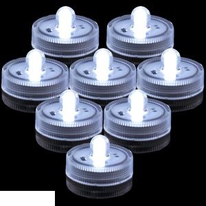 120 Units of WATERPROOFWHITE FLAMELESS LED CANDLES - LED Party Items