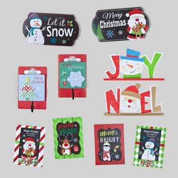 30 Units of Christmas Wall/table Decor