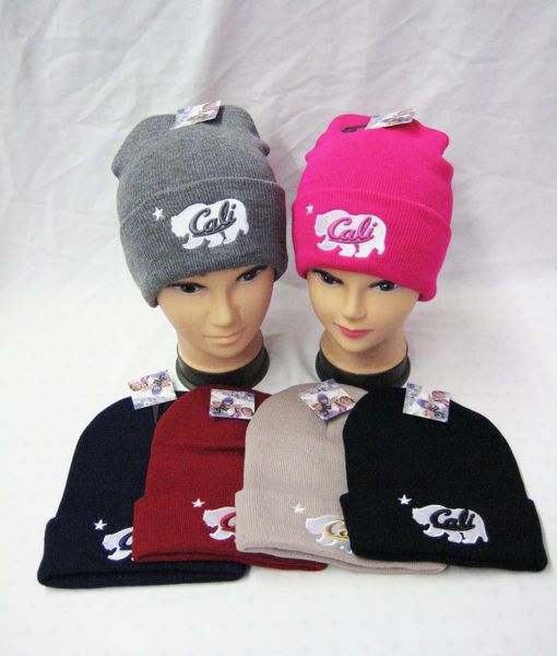eede2684310 36 Units of Ladies Winter Cali Beanie Assorted Color - Winter Beanie Hats -  at - alltimetrading.com
