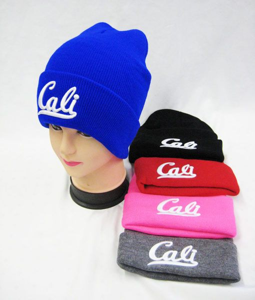 c48b0a1a 36 Units of Mens Winter Cali Beanie Assorted Color - Winter Beanie Hats -  at - alltimetrading.com