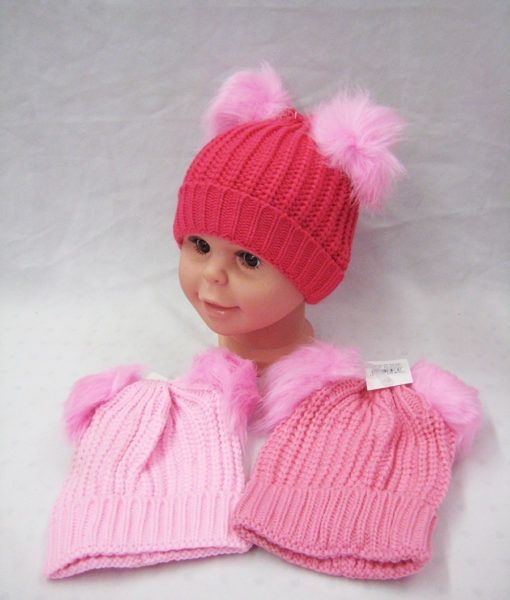 79982171b53d 48 Units of Toddler Girl Winter Warm Hat - Winter Beanie Hats - at ...