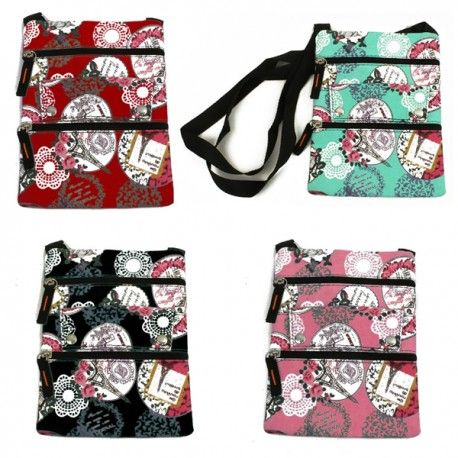 120 Units of Mid Size Cross Body Bag in Armour