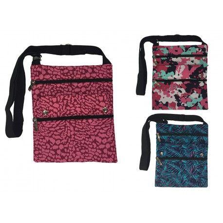 120 Units of LARGE CROSS BODY BAG (KIP PRINT) - Tote Bags & Slings