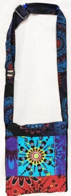 10 Units of Small Sling with Colorful Design - Tote Bags & Slings