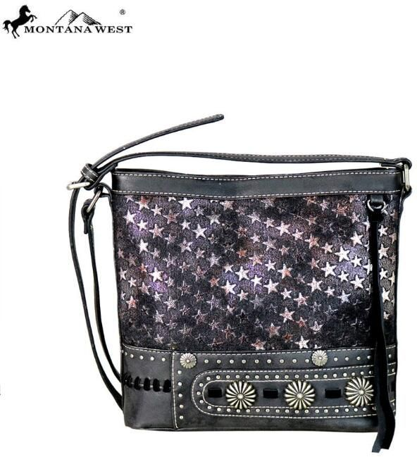 4 Units of Montana West Concho Collection Crossbody Bag