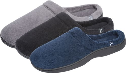 24 Units of Men's Slip On with Side Logo