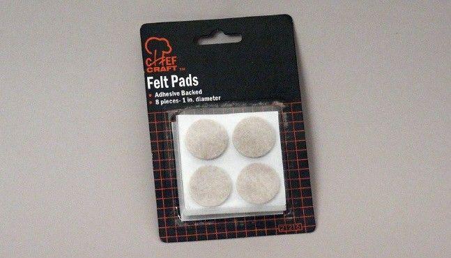 "72 Units of Felt Pads,1"" 8 Piece"