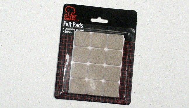 "72 Units of Felt Pads - 12 Pieces 1"" - Home Goods"