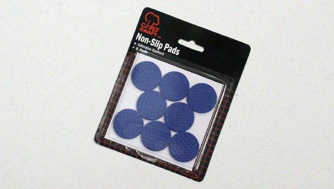"""72 Units of PVC Pads, Blue, 1 1/4"""", 8 Piece"""