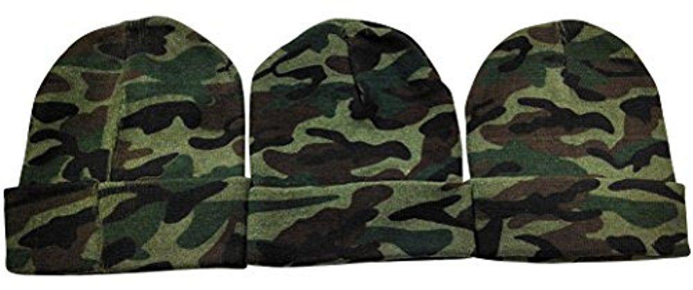 3 Units of 3 Piece SOCKSNBULK Camoflauge Military Camo Winter ... 99017c81efb