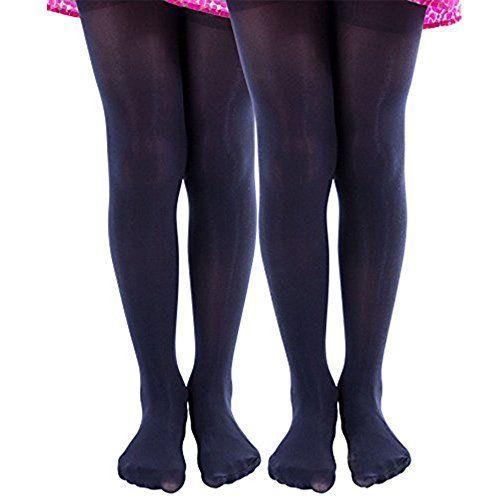 21517168ba8 2 Pairs of Mod & Tone Girls Microfiber Opaque Tights (6-8, Black) -  Childrens Tights - at - alltimetrading.com