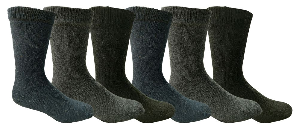 9a2e380b68c29 6 Units of Yacht & Smith Mens Winter Thermal Socks - Mens Thermal Sock - at  - alltimetrading.com