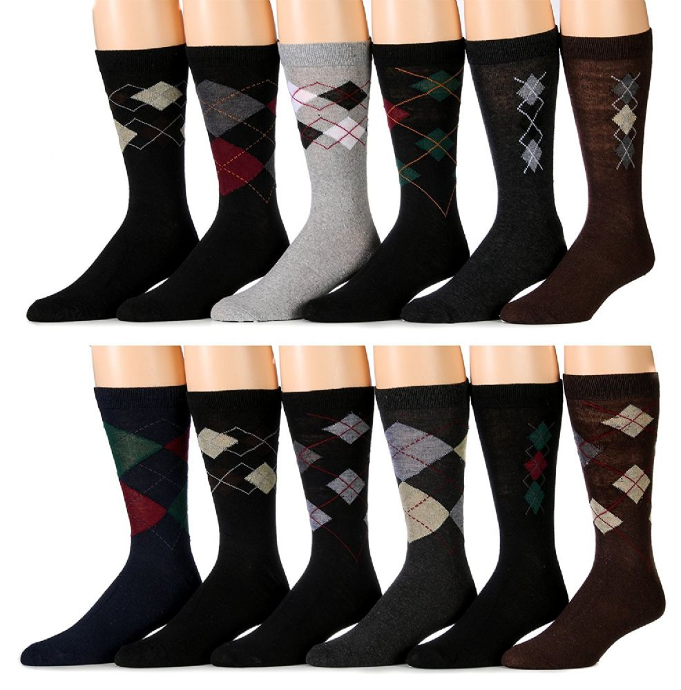 25b0fc5c3402 12 Pairs of excell Mens Fashion Designer Dress Socks, Cotton Blend (7200) - Mens  Dress Sock - at - alltimetrading.com