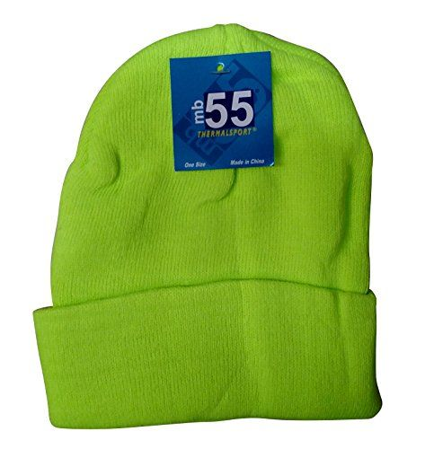 cfec3ffbc58 excell Brand Blank Cuff Beanie Orange Or Yellow (Yellow) - Winter Beanie  Hats - at - alltimetrading.com