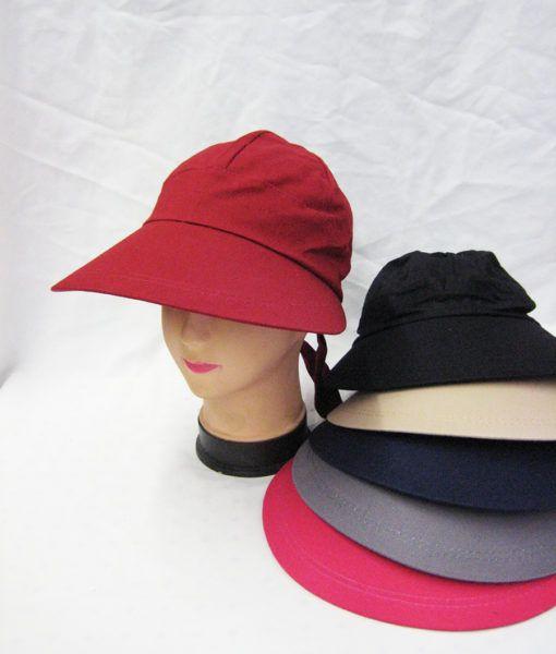 36 Units of Womens Sun Visor Cap Assorted Colors - Sun Hats - at -  alltimetrading.com 538152aa6ebc