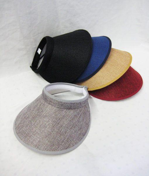 36 Units of Women Fashion Sun Visor - Sun Hats - at - alltimetrading.com e0d2c65cfcb7
