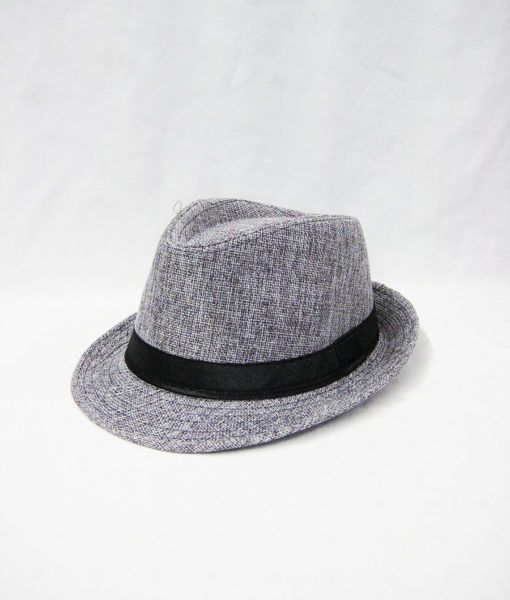 36 Units of Kids Fedora Hat In Grey - Fedoras 39a486c10c5b
