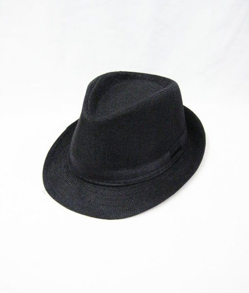 36 Units of Kids Fedora Hat In Black - Fedoras 66ed4024ac0