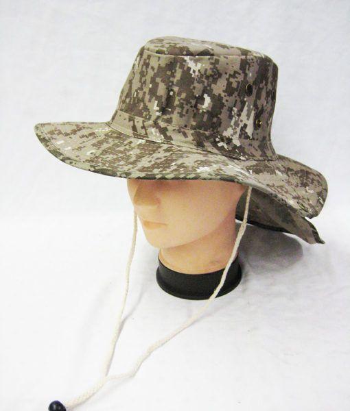 ffcc1236 24 Units of Men's Cowboy Sun Hat, Summer Beach Bucket Hat For Hunting  Fishing Safari Cap Boonie In Digital Khaki - Cowboy & Boonie Hat - at ...