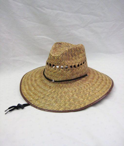 f922ec8b28661 48 Units of Mens Cowboy Straw Hat - Cowboy   Boonie Hat - at -  alltimetrading.com