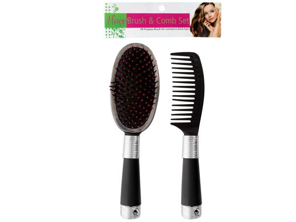 72 Units of Hair Brush & Comb Set - Hair Accessories