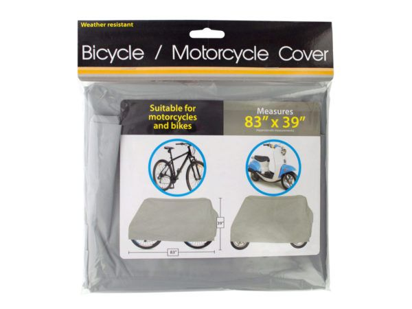 30 Units of Weather Resistant Bicycle & Motorcycle Cover - Auto Accessories